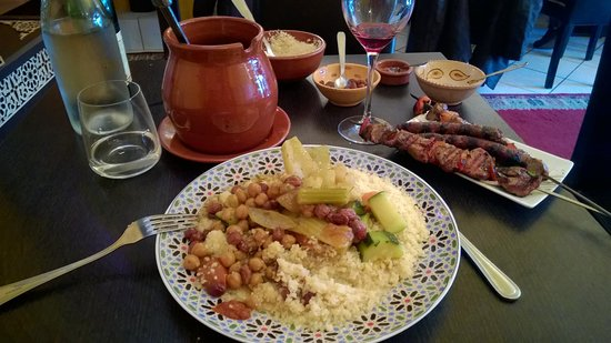 Pontivy, France: Excellent couscous