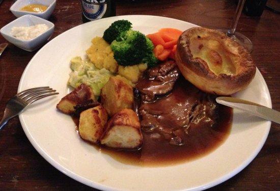 Hartfield, UK: Roast beef