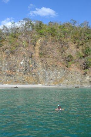 Playa Flamingo, Costa Rica: Snorkeling at the private beach