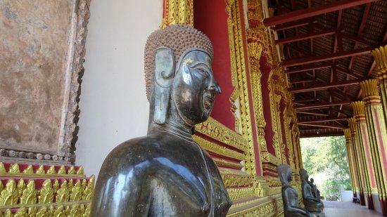 Vientiane, Laos: la galerie aux bouddhas