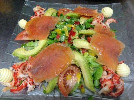 Saint-Etienne-de-Chigny, France: Salade de la bresme