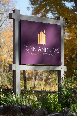 John Andrews Farmhouse Restaurant: Right off of Rt 23 in South Egremont... Look for the sign! (Photo credit Michelle Girard)