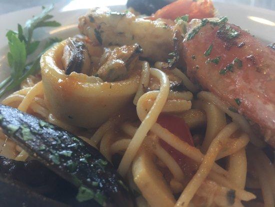 Campana, Argentina: Spaghetti Fruti di Mare