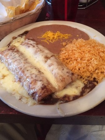 Fort Mitchell, KY : Enchiladas plate