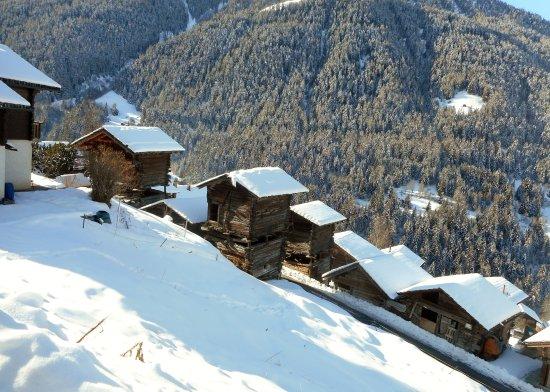 Anniviers, Switzerland: Ayer Village, Valais, Switzerland