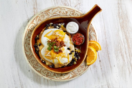 The Colony, TX: Huevos Rancheros