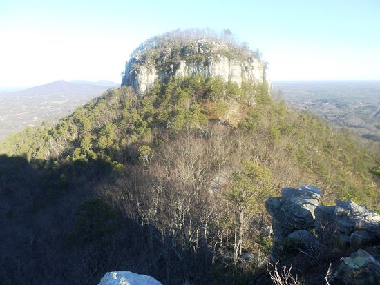 Mount Airy, Carolina del Nord: View of one of the mountain peaks