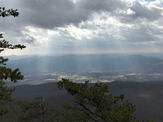 Afton, Virginie : Wintergreen hike (not far from Ridgeside!)