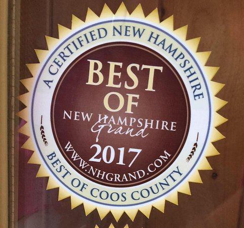 Pittsburg, NH: Voted Best of by New Hampshire Grand.