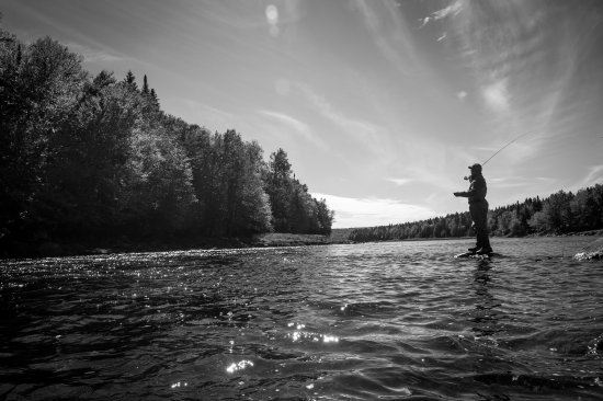 Pittsburg, NH: Fishing the Connecticut River.