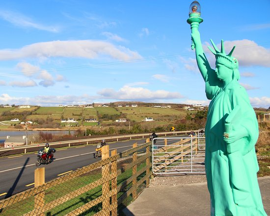 Letterkenny, Ireland: Irelands Statue of Liberty in Donegal