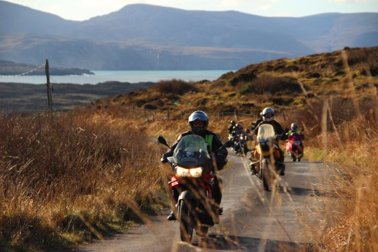 Letterkenny, Ireland: Roads less travel enjoyed by True North Bike tours