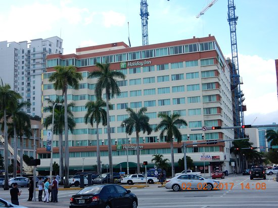 Holiday Inn Port of Miami Downtown: Great Location