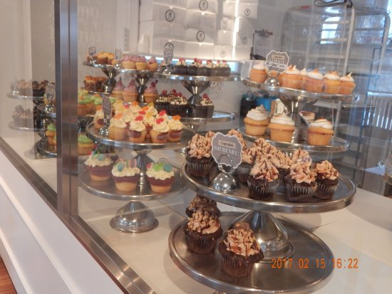 Beloeil, Καναδάς: Part of the cupcakes on display