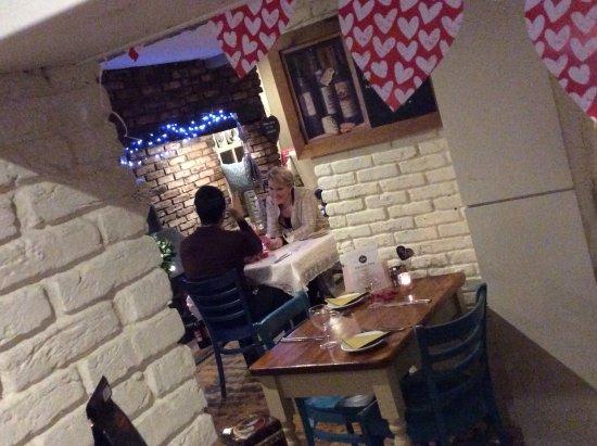 Boroughbridge, UK: Valentines evening at Bean Emporium