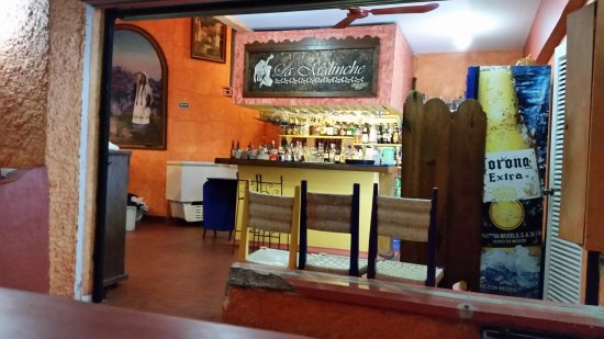 La Malinche: The kitchen area