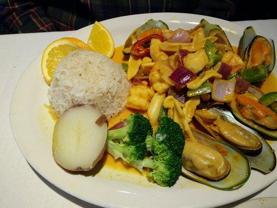 Gaithersburg, MD: Seafood Dish