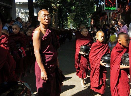 Amarapura, Myanmar: genel görünüm
