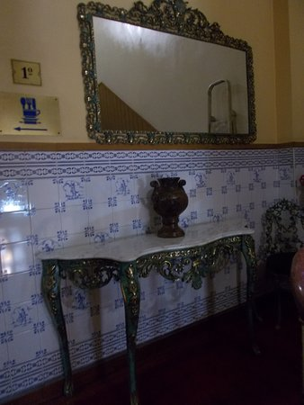 Grande Pensao Residencial Alcobia: Lépcsőházi fordulón