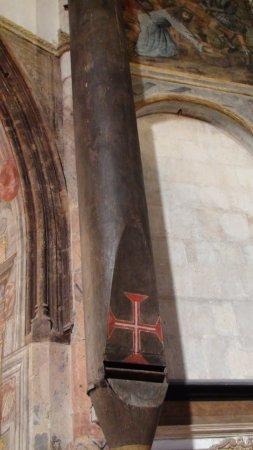 Tomar, Portugal: Tubo acústico na Charola do Convento de Cristo
