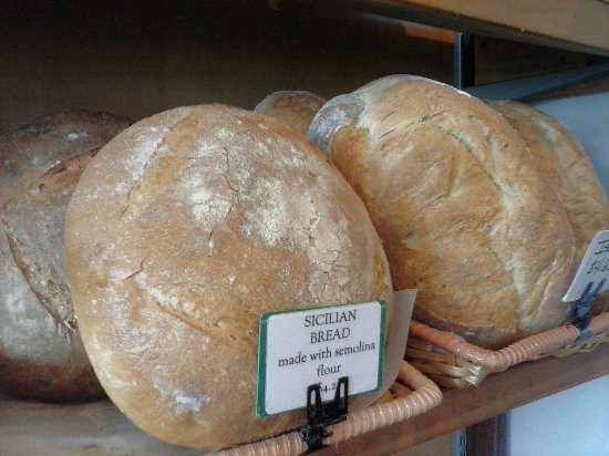 Brevard, NC: Sicilian loaf made  with semolina flour