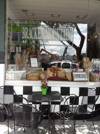 Brevard, NC: bakery front seating