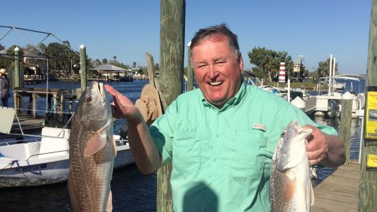 Homosassa Riverside Resort: Fishing was awesome with Capt. Charlie Harris.