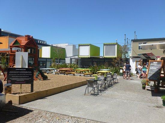 Cashel street shopping area