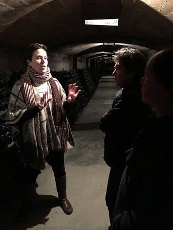 Subirats, Spain: Anna in the cellar