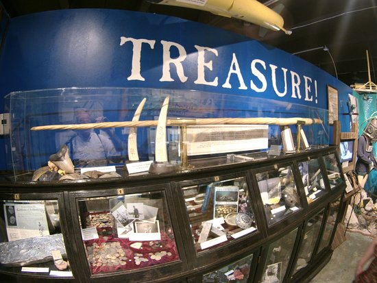 History of Diving Museum: All kinds of interesting facts and displays of value from the sea.
