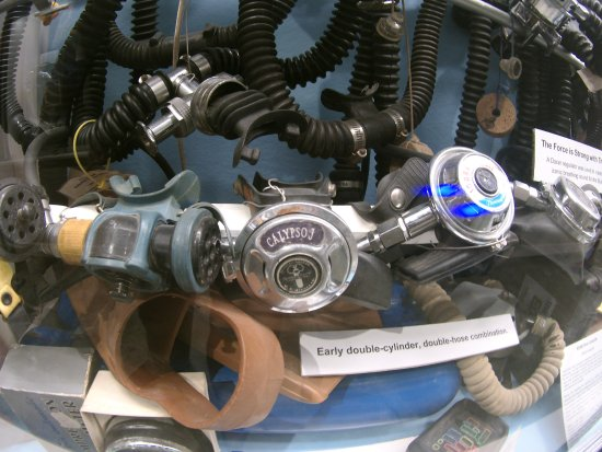 History of Diving Museum: Just like my 1969 Calypso J regulator