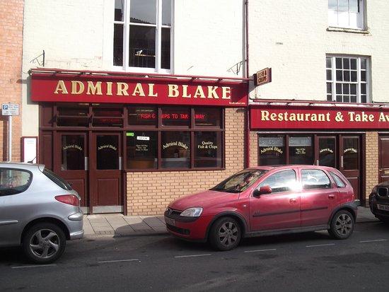 Μπριτζγουότερ, UK: Admiral Blake Fish Bar