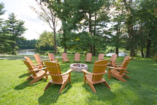 Airlie: Fire Pits And Adirondack Chairs Are Located Throughout The Grounds.