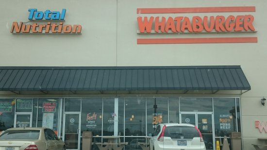 Lufkin, TX: WHATABURGER is not just a burger, it's a WHATABURGER!