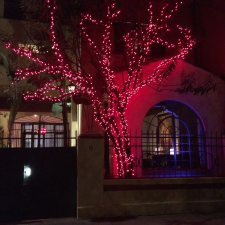 The Red Tree House: The Hotel gets its name from this Tree which is illuminated every night