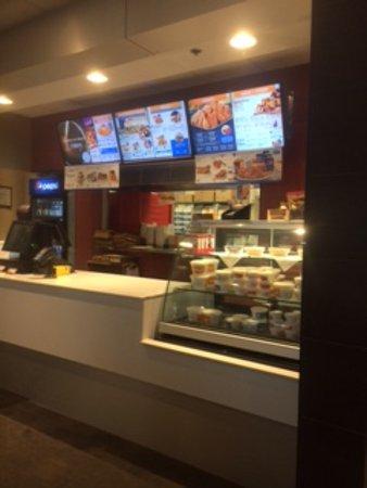 Tantallon, Canada: Order and display counter