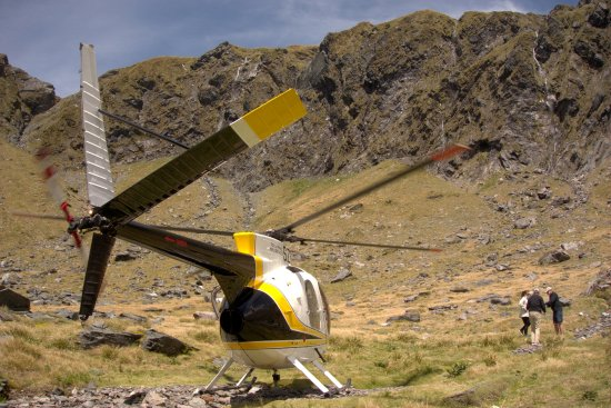 Haast, New Zealand: ALPINE LANDINGS
