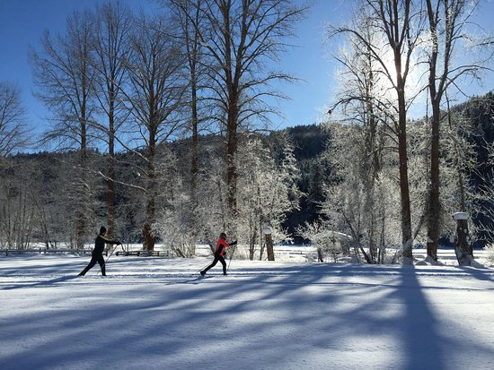 Leavenworth, WA: Enjoy the diversity of landscapes of Plain Valley Nordic Ski Trails!