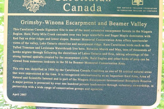 Grimsby, Canada : All about the escarpment