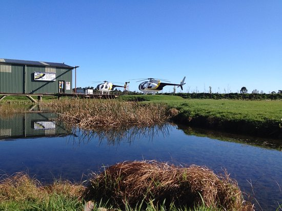 'HAAST HELI OFFICE AND HANGER
