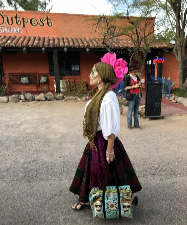 Day of the Dead Parade in Tubac