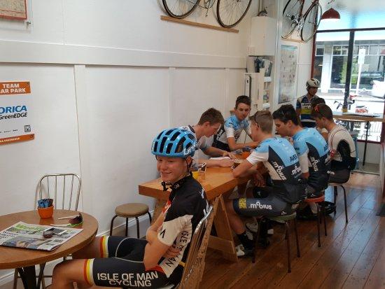 Palmerston North, Nueva Zelanda: Aussie visitors: Mobius Future Racing team