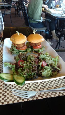 Dobson, NC: Twin Crab Cake Sliders