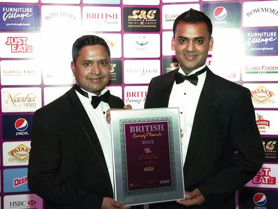 Great Dunmow, UK: BRITISH CURRY AWARDS
