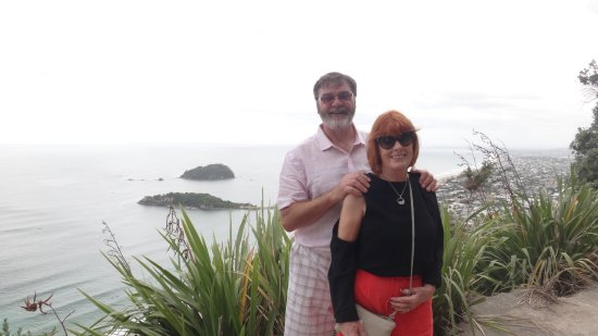 Mount Maunganui, Yeni Zelanda: Almost at the top