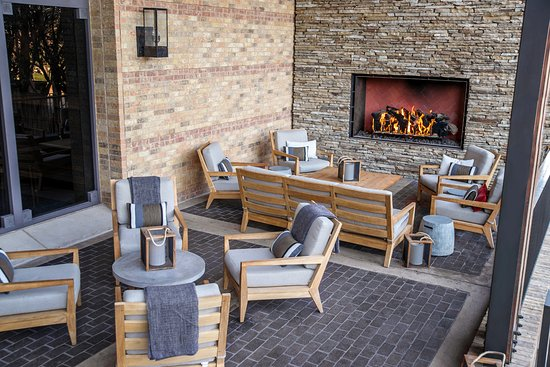 Irving, TX: Fireplace