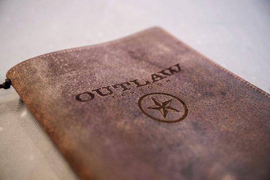 Irving, TX: OUTLAW menu