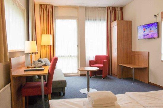 Beekbergen, Países Baixos: luxe kamer met terras