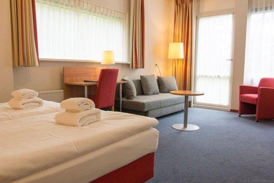 Beekbergen, Niederlande: luxe kamer met terras