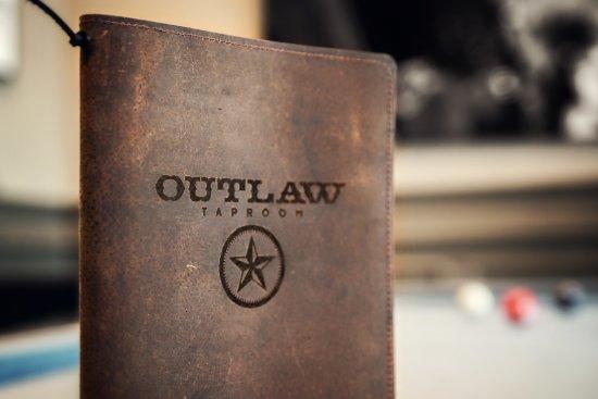 Irving, TX: OUTLAW Taproom menu